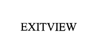 mark for EXITVIEW, trademark #76405150