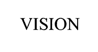 mark for VISION, trademark #76405709