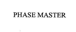 mark for PHASE MASTER, trademark #76405885