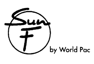 mark for SUN F BY WORLD PAC, trademark #76406568