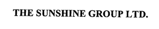 mark for THE SUNSHINE GROUP LTD., trademark #76408231