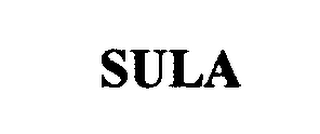 mark for SULA, trademark #76408701