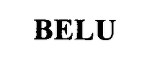 mark for BELU, trademark #76409618