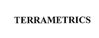 mark for TERRAMETRICS, trademark #76410309