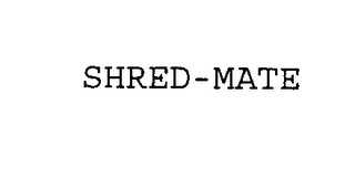 mark for SHRED-MATE, trademark #76410578