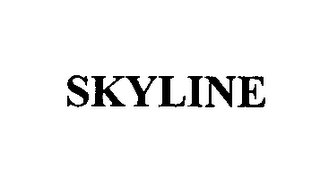 mark for SKYLINE, trademark #76410815