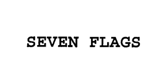 mark for SEVEN FLAGS, trademark #76411303