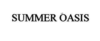 mark for SUMMER OASIS, trademark #76412566