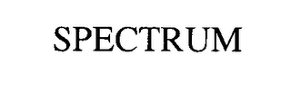 mark for SPECTRUM, trademark #76413212