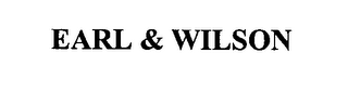 mark for EARL & WILSON, trademark #76413760