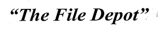 "mark for ""THE FILE DEPOT"", trademark #76414618"