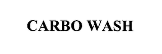 mark for CARBO WASH, trademark #76414728