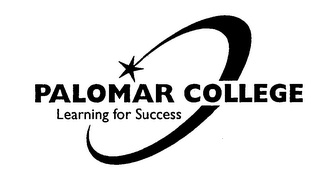 mark for PALOMAR COLLEGE LEARNING FOR SUCCESS, trademark #76416333