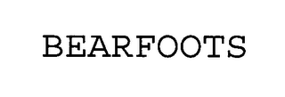 mark for BEARFOOTS, trademark #76418264
