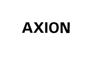 mark for AXION, trademark #76418485