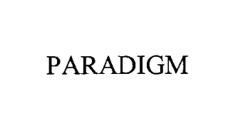 mark for PARADIGM, trademark #76418582