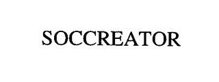 mark for SOCCREATOR, trademark #76419421