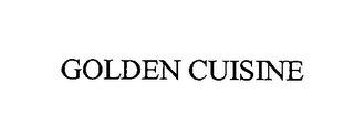 mark for GOLDEN CUISINE, trademark #76419537