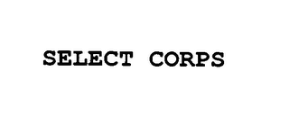 mark for SELECT CORPS, trademark #76419993