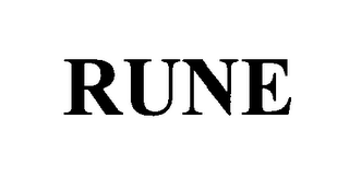 mark for RUNE, trademark #76421181