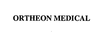 mark for ORTHEON MEDICAL, trademark #76421292