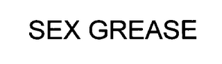 mark for SEX GREASE, trademark #76421676