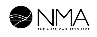 mark for NMA THE AMERICAN RESOURCE, trademark #76423111