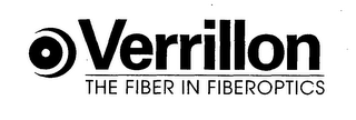 mark for VERRILLON THE FIBER IN FIBEROPTICS, trademark #76423879