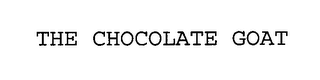 mark for THE CHOCOLATE GOAT, trademark #76423934