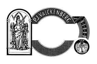 mark for P. J. VALCKENBERG, trademark #76424013