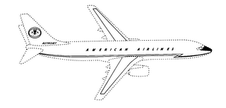 mark for ASTROJET AMERICAN AIRLINES, trademark #76424456