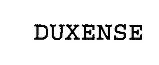 mark for DUXENSE, trademark #76425487