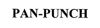 mark for PAN-PUNCH, trademark #76427513