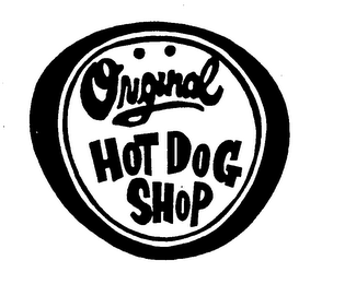 mark for ORIGINAL HOT DOG SHOP, trademark #76429006