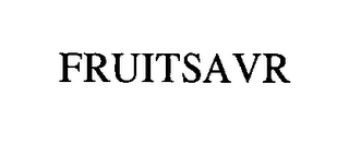 mark for FRUITSAVR, trademark #76429816