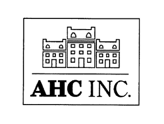 mark for AHC INC., trademark #76430959