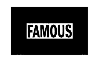 mark for FAMOUS, trademark #76431914