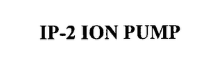 mark for IP-2 ION PUMP, trademark #76432023