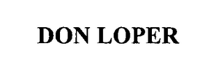 mark for DON LOPER, trademark #76433633