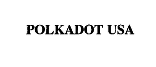 mark for POLKADOT USA, trademark #76436827