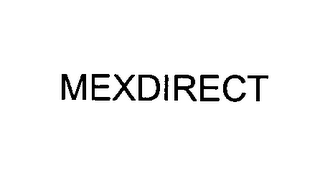 mark for MEXDIRECT, trademark #76437314