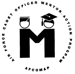 mark for M AFCOMAP AIR FORCE CADET OFFICER MENTOR ACTION PROGRAM, trademark #76438127