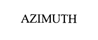 mark for AZIMUTH, trademark #76438225