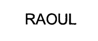 mark for RAOUL, trademark #76438928