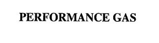mark for PERFORMANCE GAS, trademark #76439547