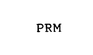 mark for PRM, trademark #76440191