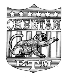 mark for CHEETAH BTM, trademark #76440275