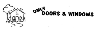 mark for ONLY DOORS & WINDOWS, trademark #76440846
