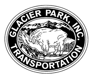 mark for GLACIER PARK, INC. TRANSPORTATION, trademark #76442313