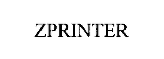 mark for ZPRINTER, trademark #76443474